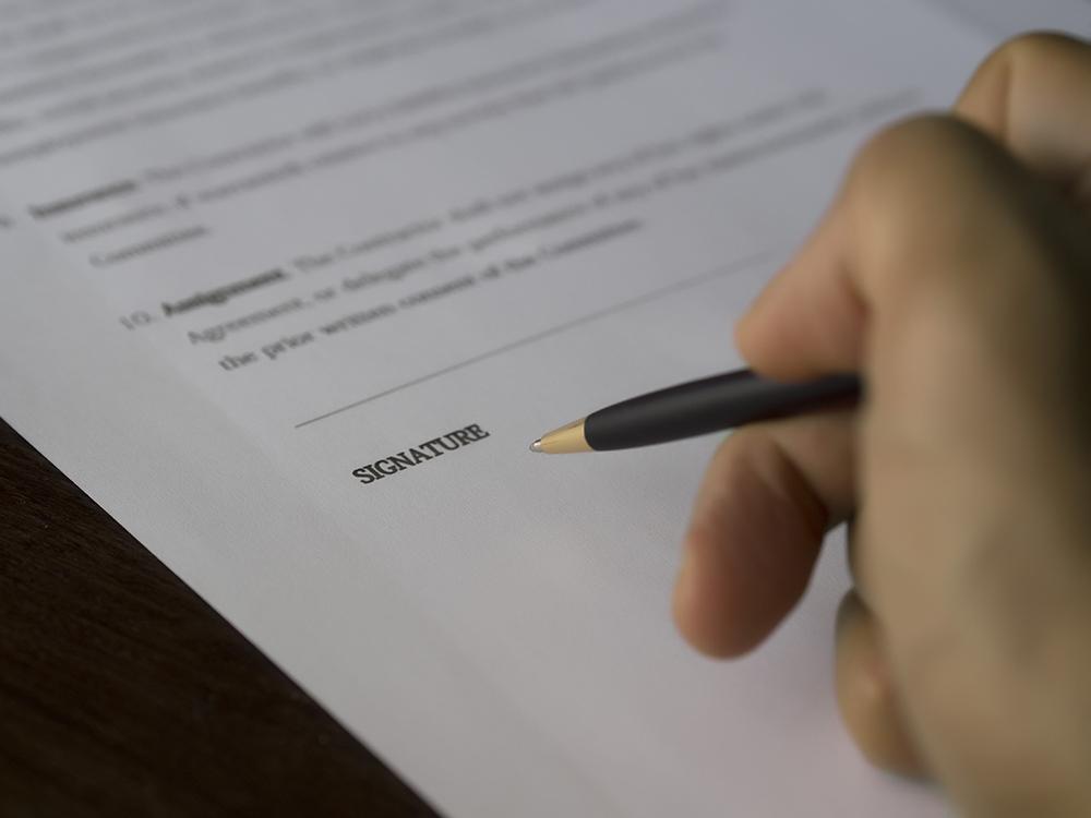 signature consent