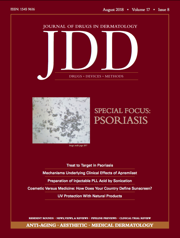 August JDD Cover Image Psoriasis