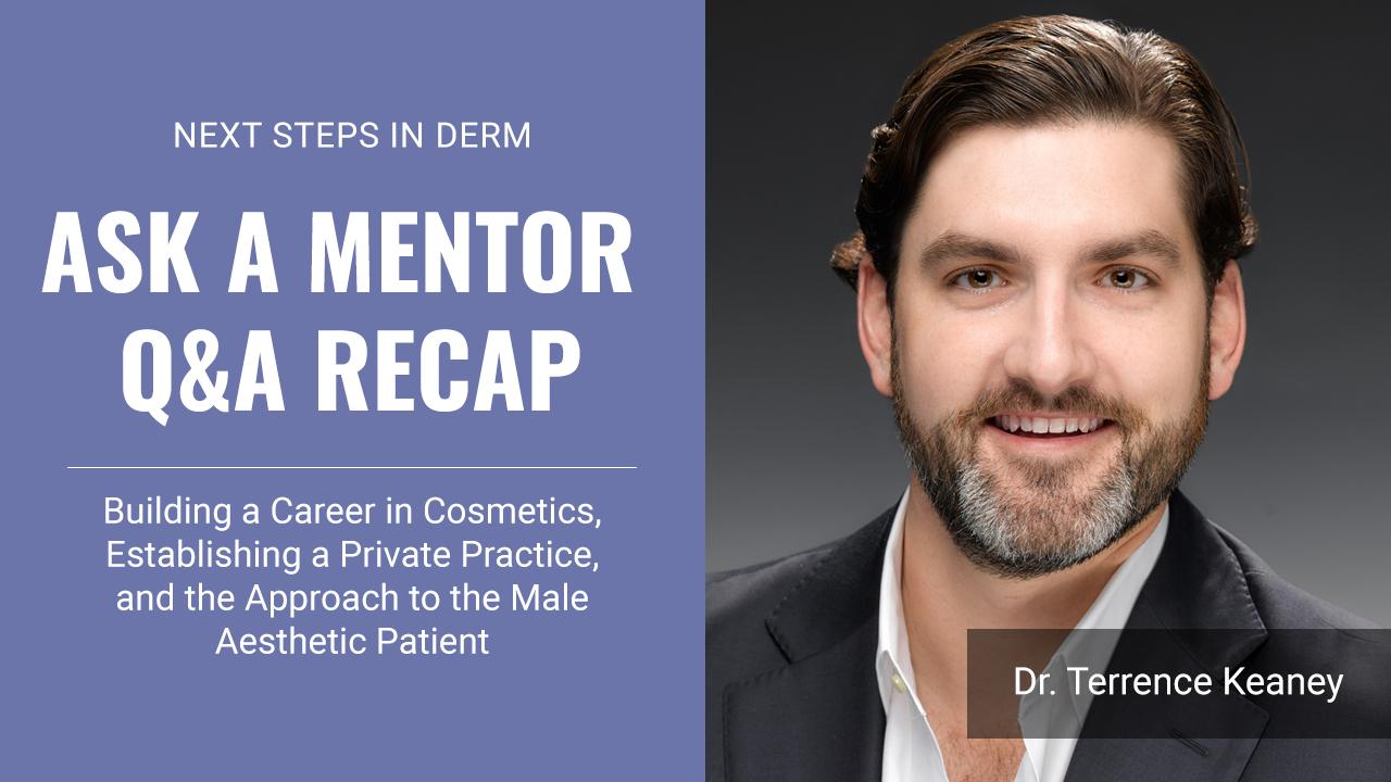 male aesthetic Dr. Terrance Keaney