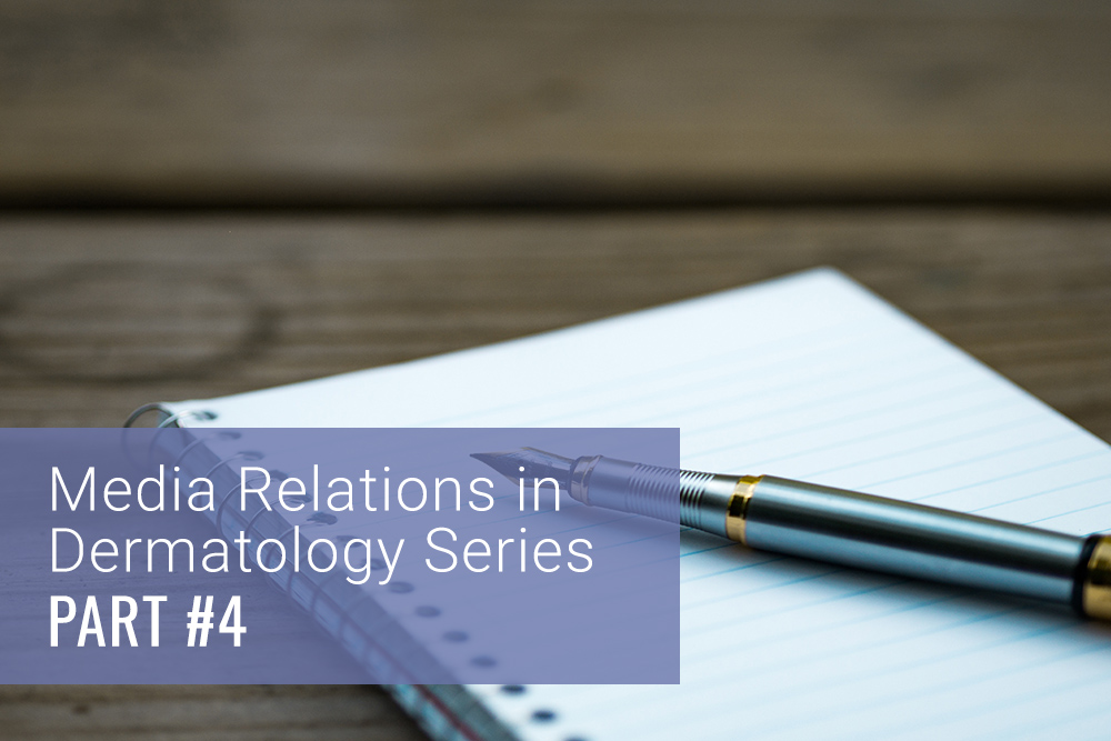 media relations dermatology
