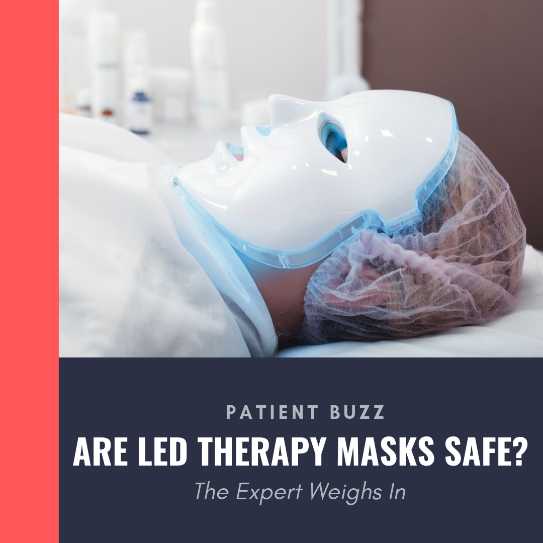 LED therapy masks