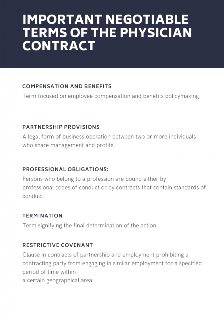 Clause in contracts of partnership and employment prohibiting a contracting party from engaging in similar employment for a specified period of time within a certain geographical area.