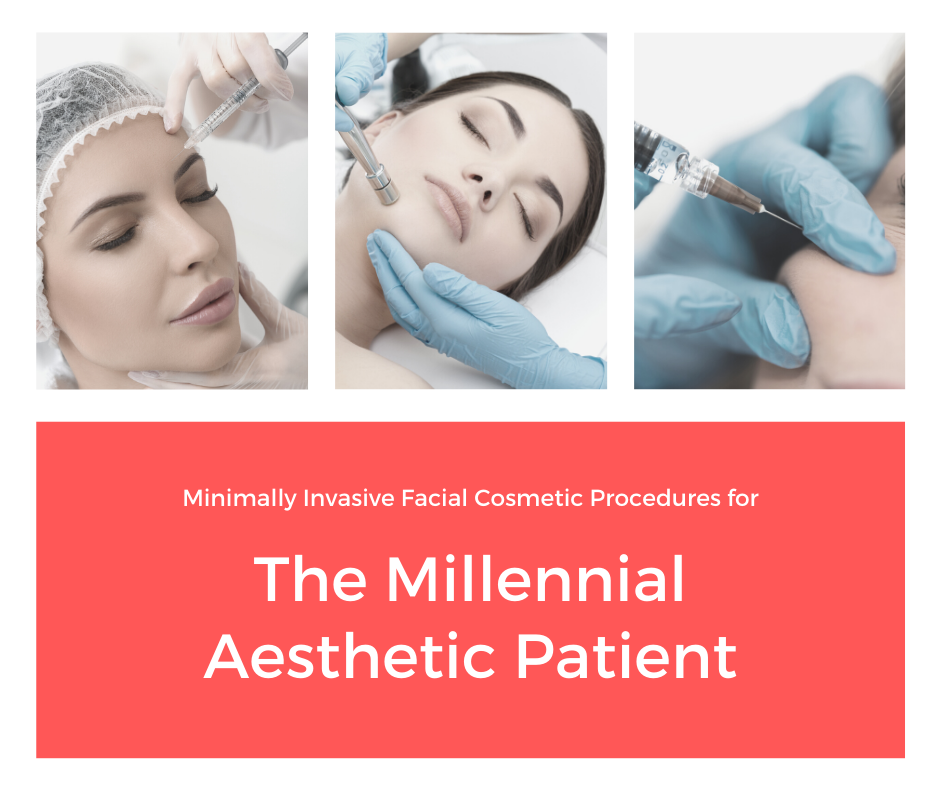 Minimally Invasive Facial Cosmetic Procedures for the Millennial Aesthetic Patient