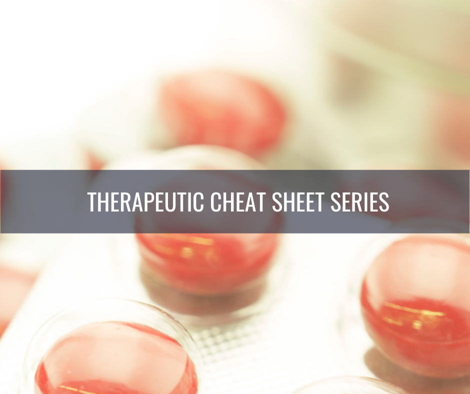Isotretinoin Cheat Sheet