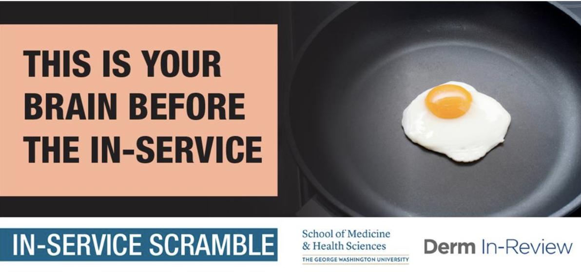 DIR In-Service Scramble