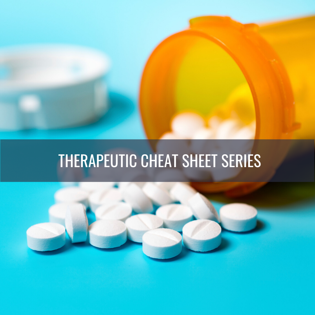 Spironolactone Therapeutic Cheat Sheet