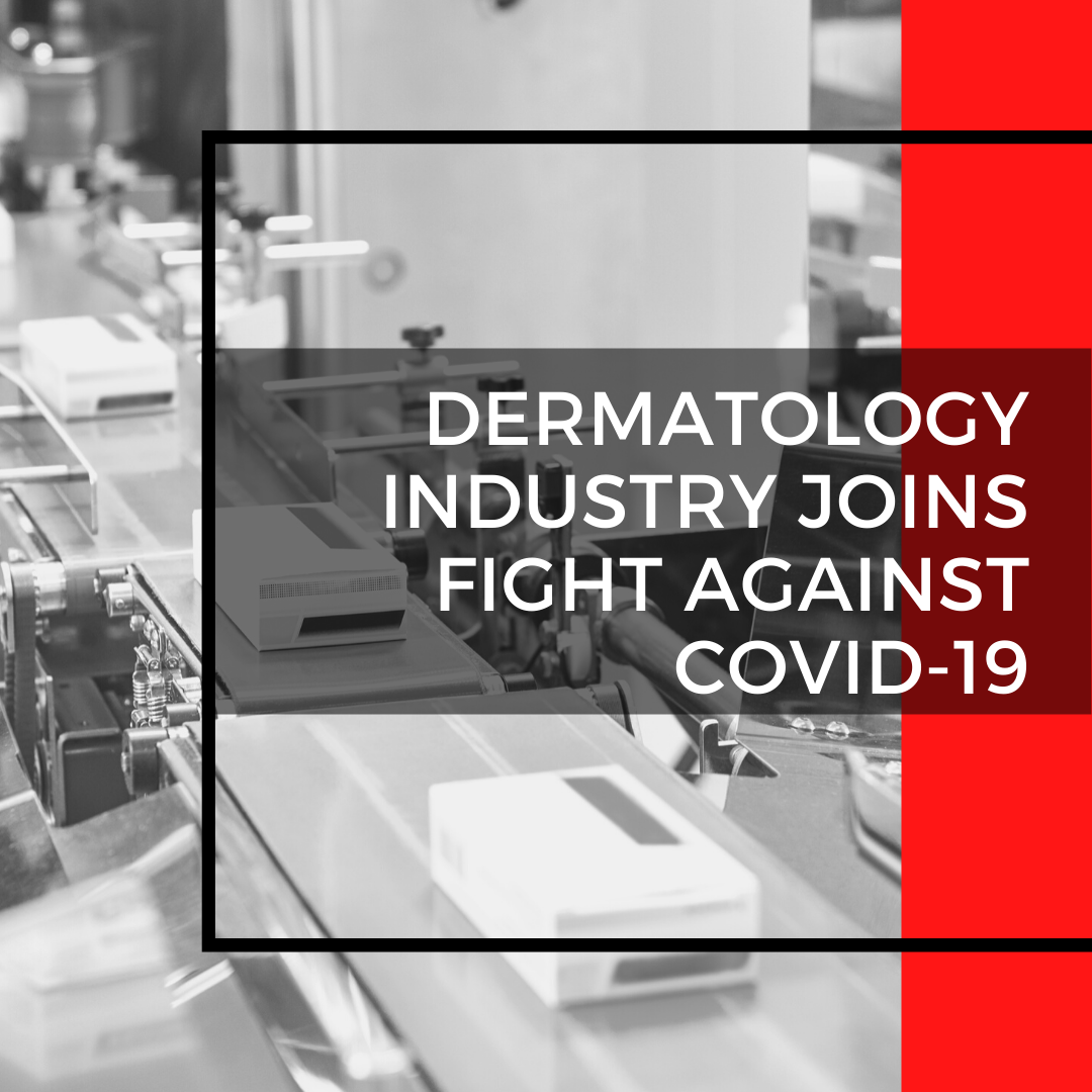 Dermatology industry joins fight against covid-19
