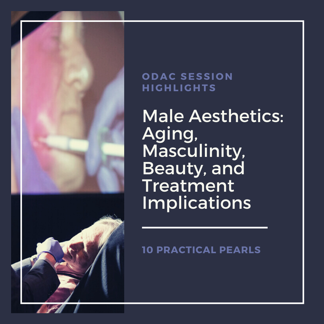 Dermatologist injecting dermal filler in male patient