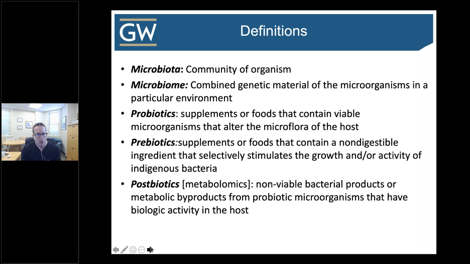 Microbiome key terms