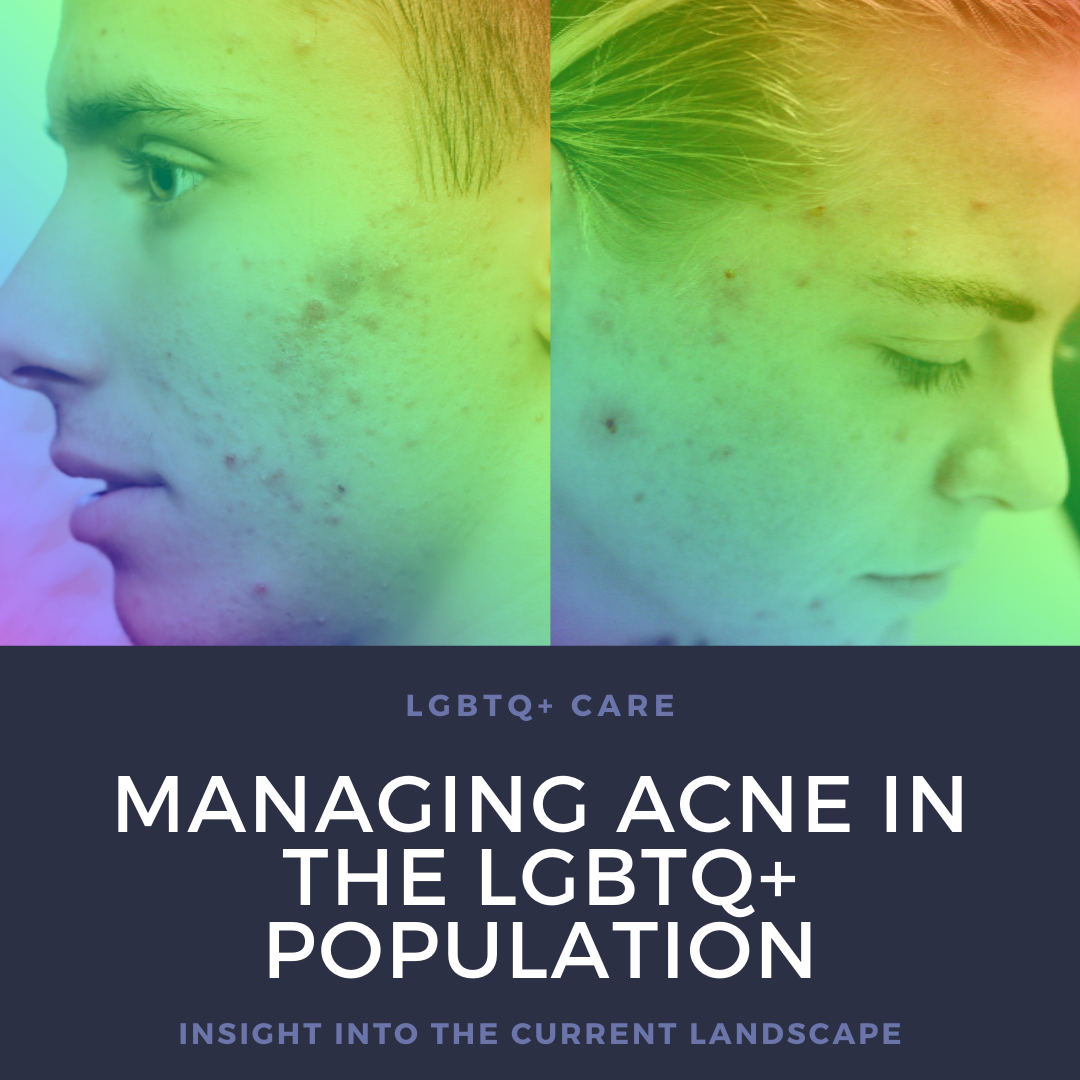 Acne in the LGBTQ+ Population