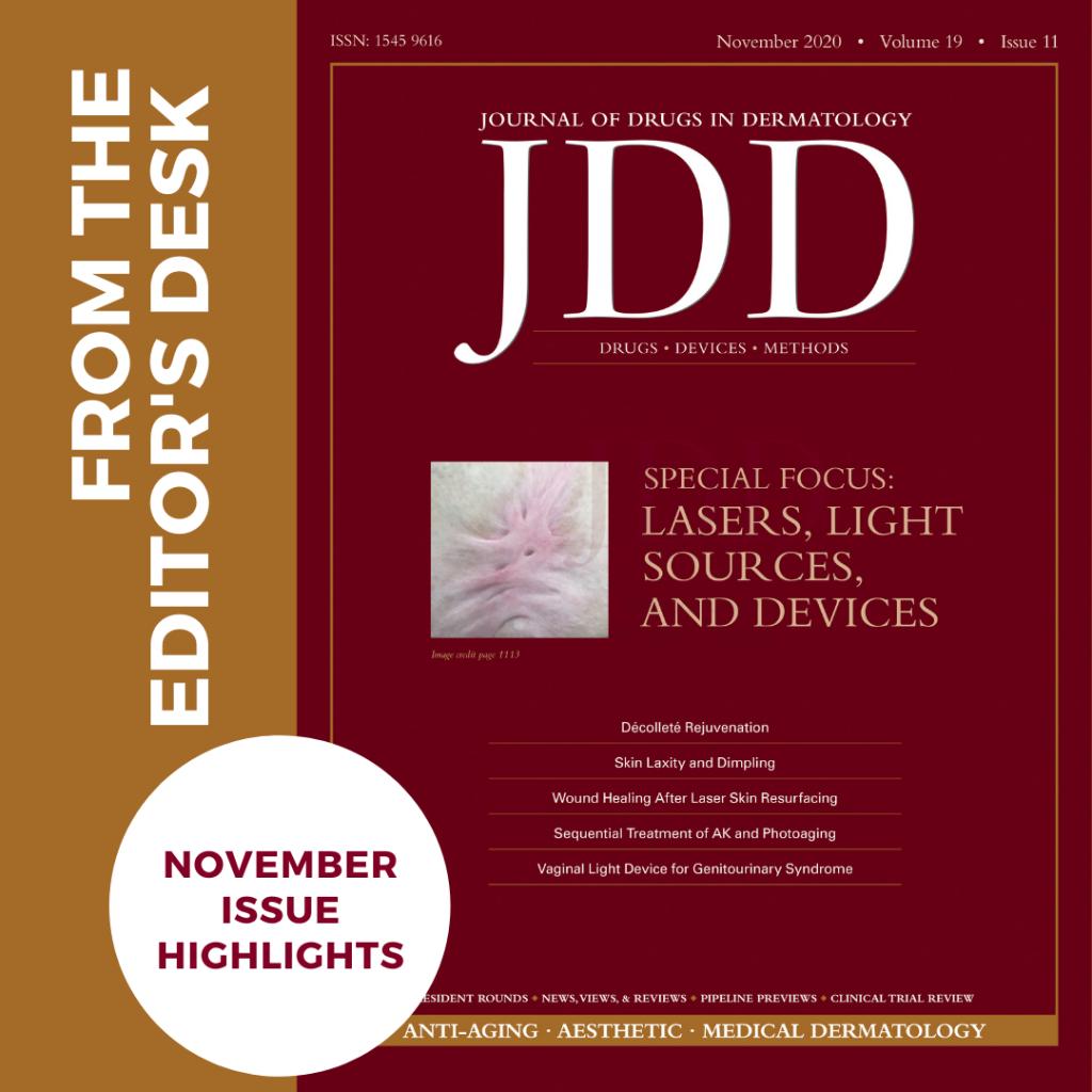 JDD November 2020 Issue Highlights