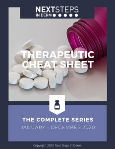 2020 Therapeutic Cheat Sheet Series