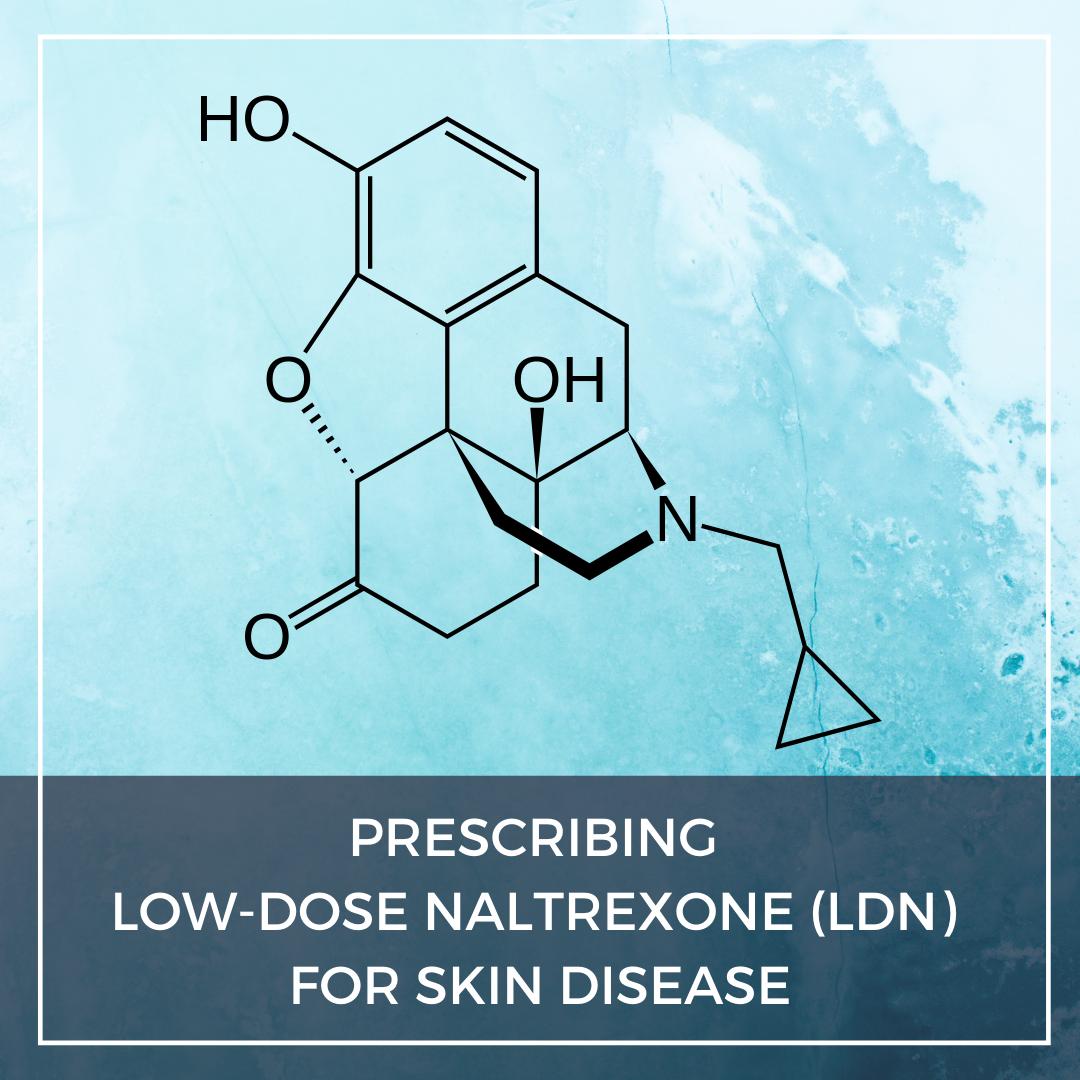 Low-dose naltrexone (LDN) for skin disease