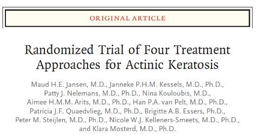 Actinic Keratoses Treatments