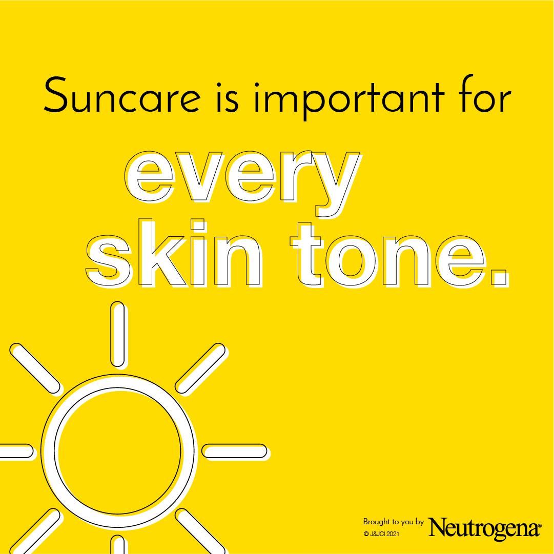 Suncare for every skin tone